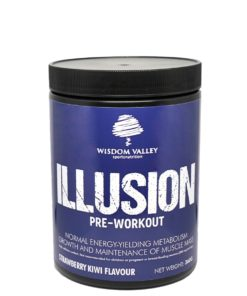 Wisdom Valley's ILLUSION Pre Workout