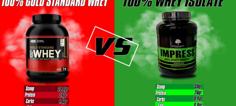 ON  Whey Protein VS Wisdom Valley  Impress Protein- Ποια ειναι καλύτερη Whey πρωτεΐνη ;
