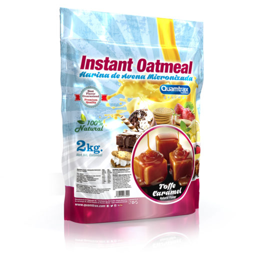 Instant Oatmeal 2000g (Quamtrax)