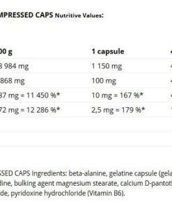 Nutrend-Beta Alanine Compressed