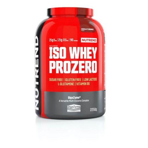 Nutrend-Iso Whey Prozero 2250g