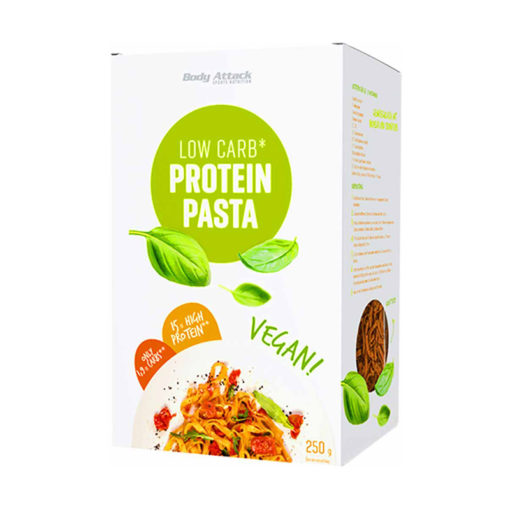 Low Carb Protein Pasta Vegan 250g (Body Attack)