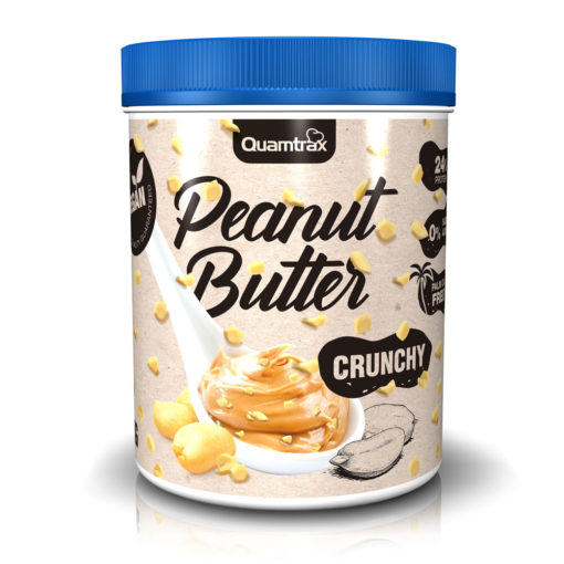 Peanut Butter Crunchy 1000g (Quamtrax)