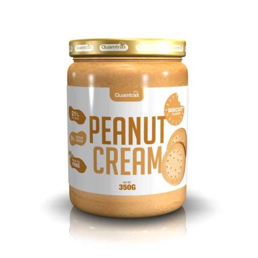 Peanut Cream & Biscuit 350g (Quamtrax)