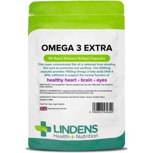 lindens omega 3 extra