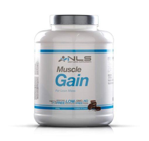 nls muscle gain